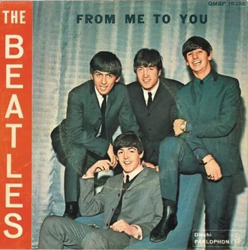 From Me to You single sleeve, 1963.