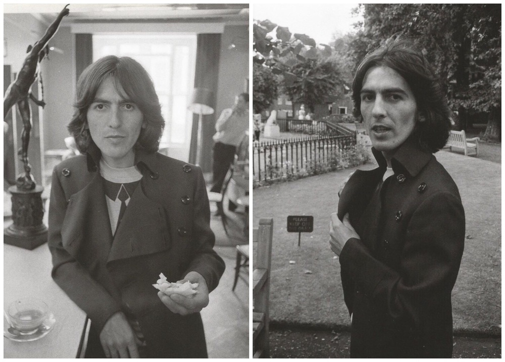George Harrison on the Beatles' Mad Day Out, July 28th 1968.