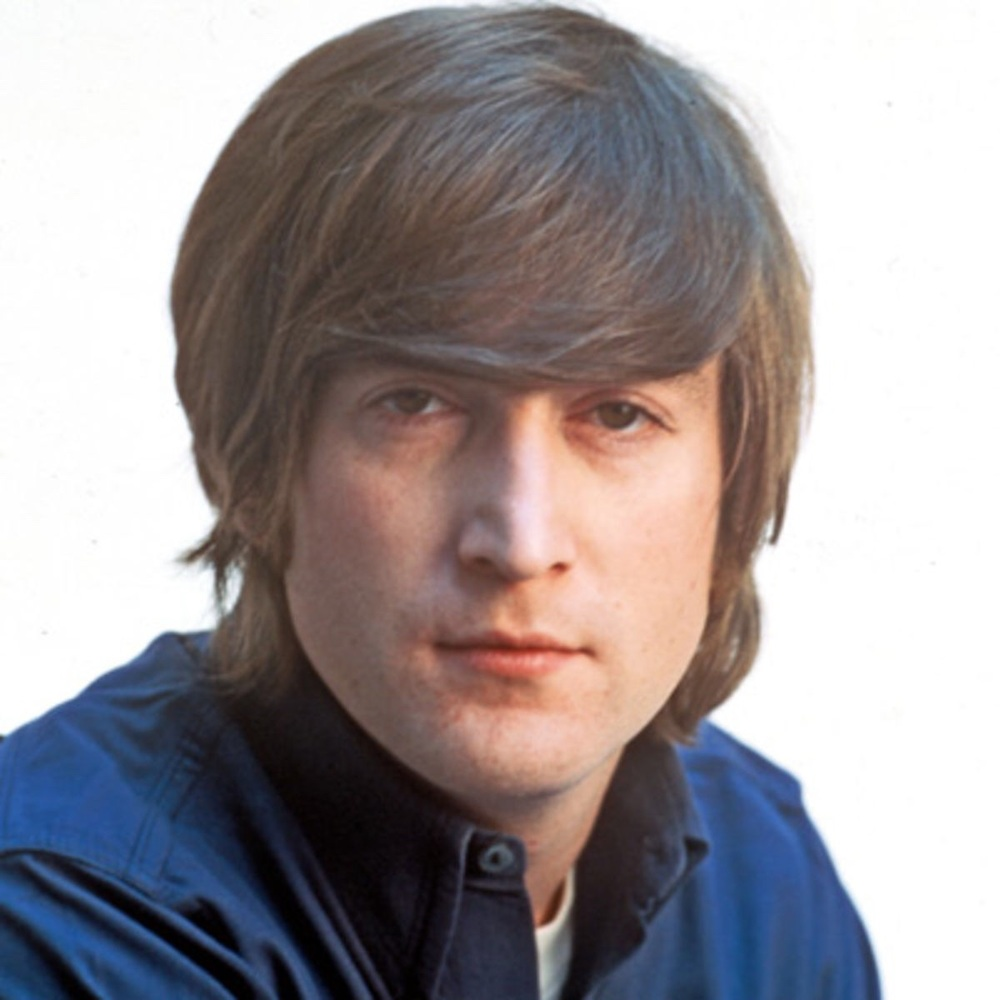 John Lennon photographed in 1965.