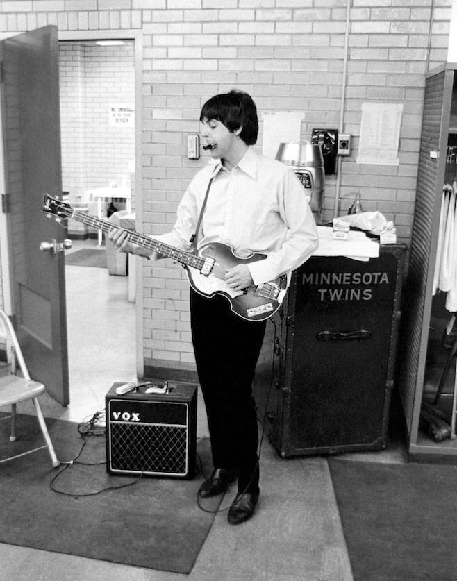 Paul McCartney in Minnesota, 1965.