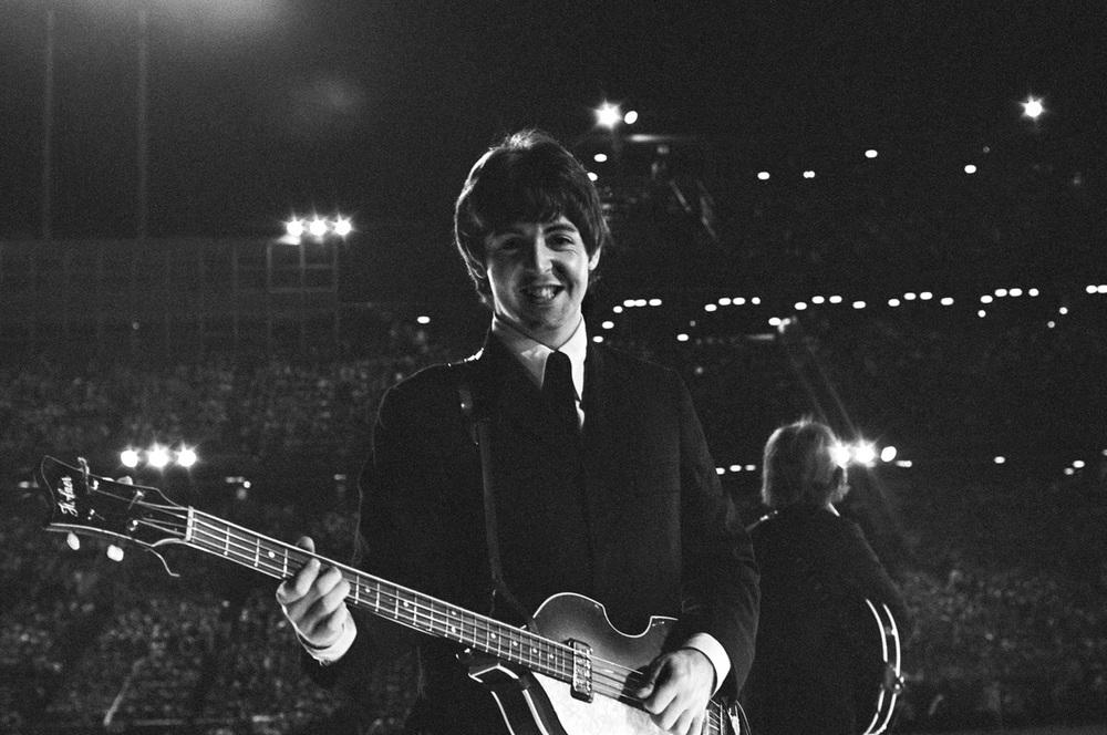 Paul McCartney in Minnesota, 1965. Photo by Bob Bonis.
