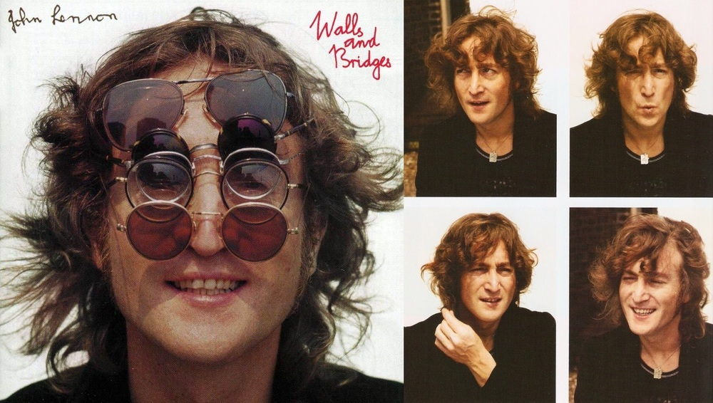 Walls and Bridges album cover and photo shoot, 1974.