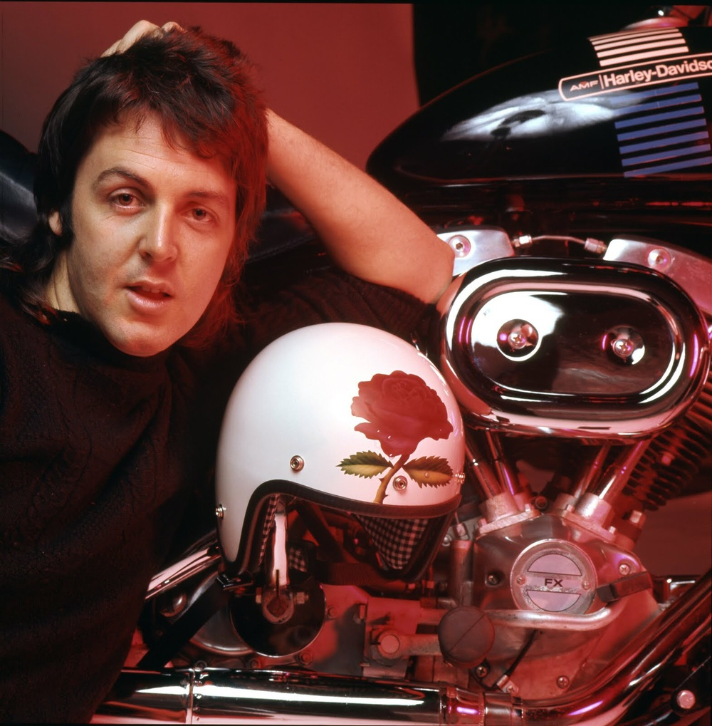Photo from Paul McCartney's 1973 album Red Rose Speedway.