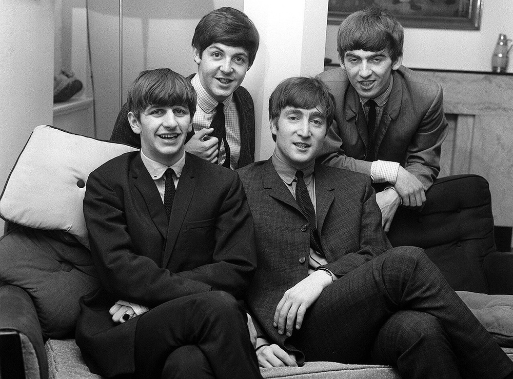 The Beatles photographed circa 1963.