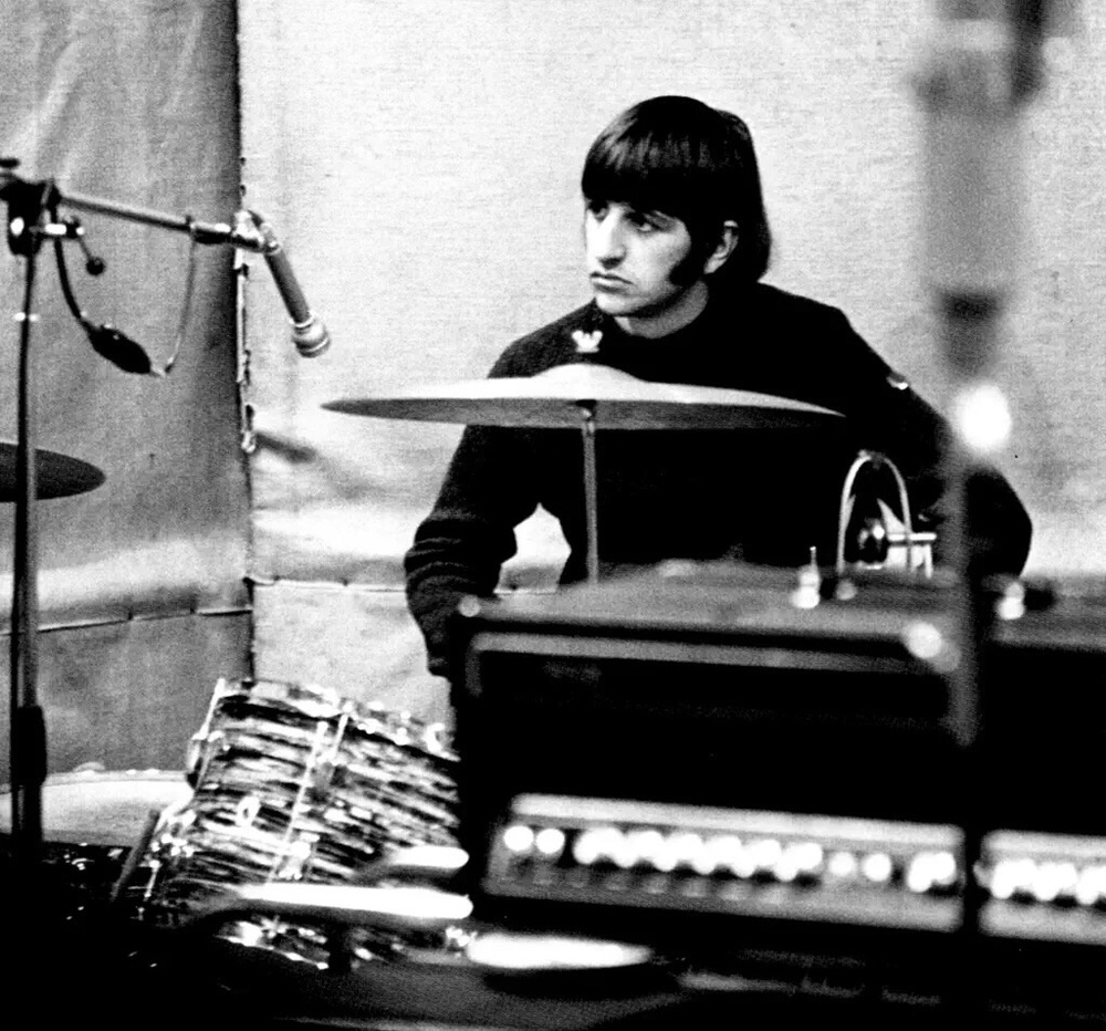 Ringo Starr 1966, during the recording of Revolver.