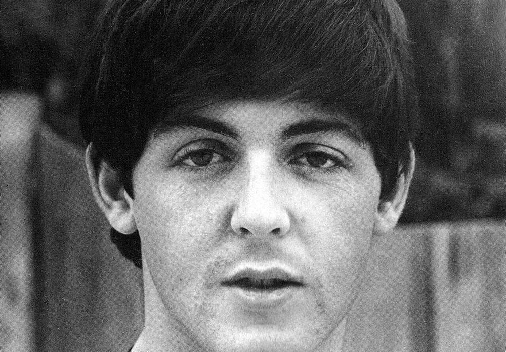 Paul McCartney photographed circa 1965.