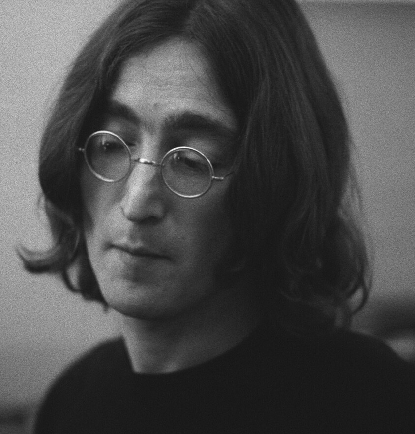 John Lennon, 1968. Photo by Ethan Russell.
