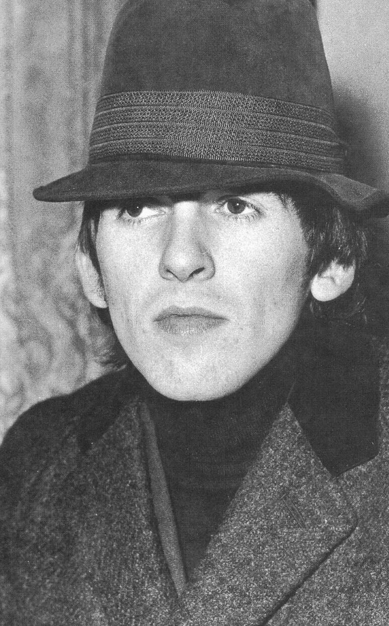 George Harrison, 1966.