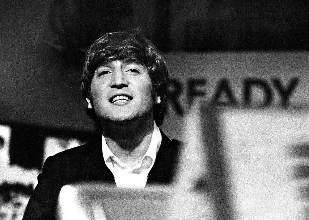 John Lennon on Ready, Steady, Go! 1964.