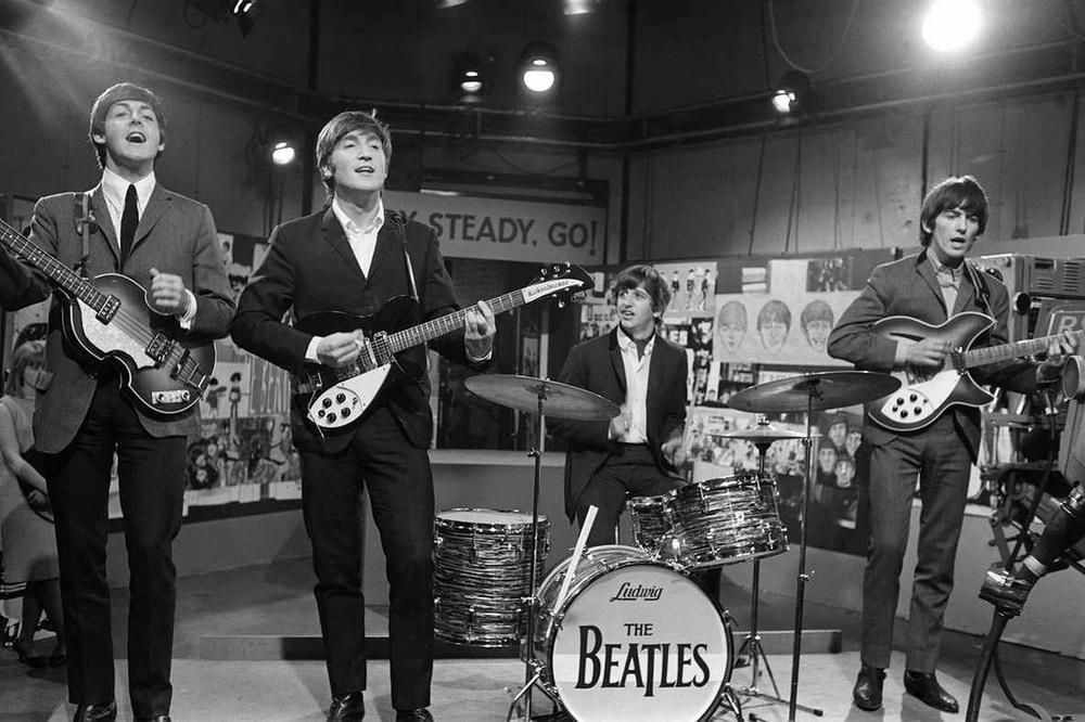 The Beatles on Ready, Steady, Go! 1964.