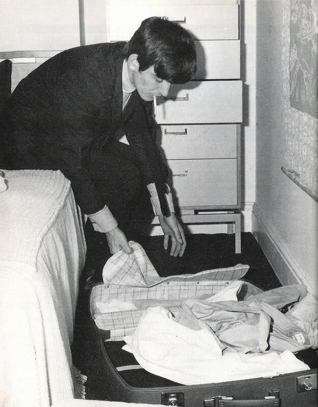 George Harrison, circa 1964.
