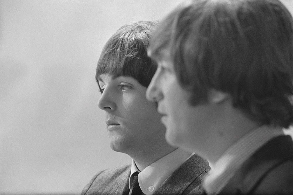 John Lennon and Paul McCartney circa 1964.