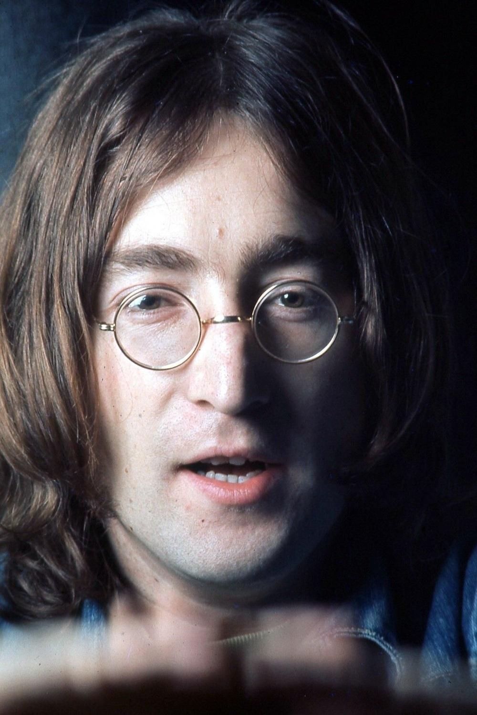 John Lennon photographed for the White Album, 1968.