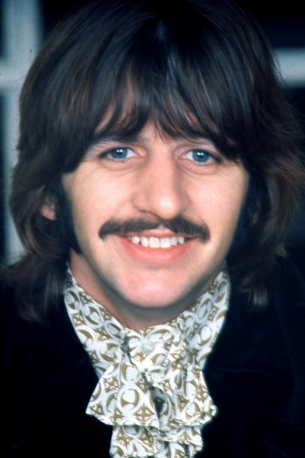 Ringo Starr photographed for the White Album, 1968.