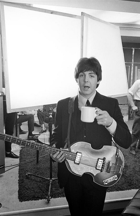 Paul McCartney filming Help! 1965.