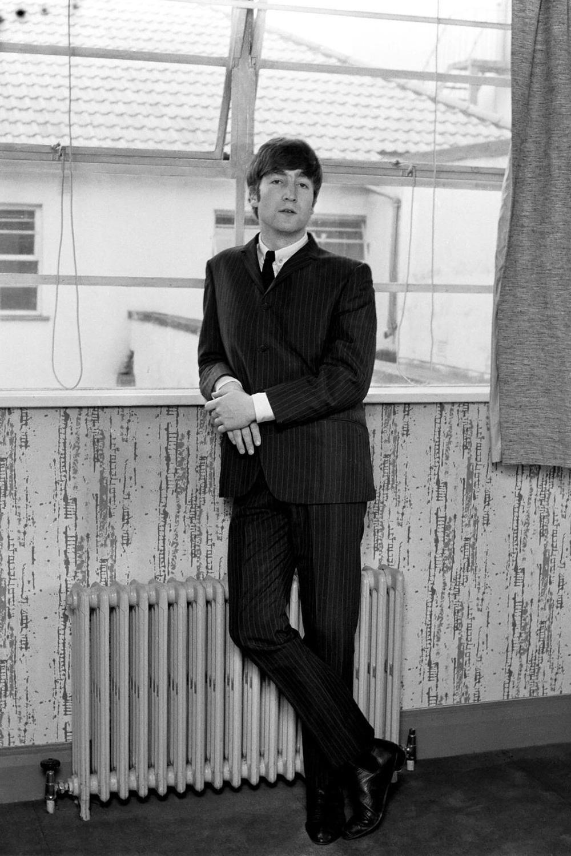 John Lennon photographed in 1963.