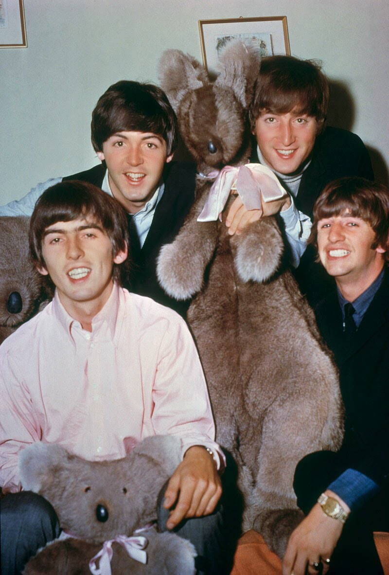 The Beatles in Australia, 1964.