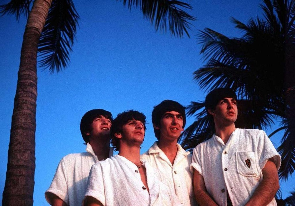 The Beatles in Miami, 1964.