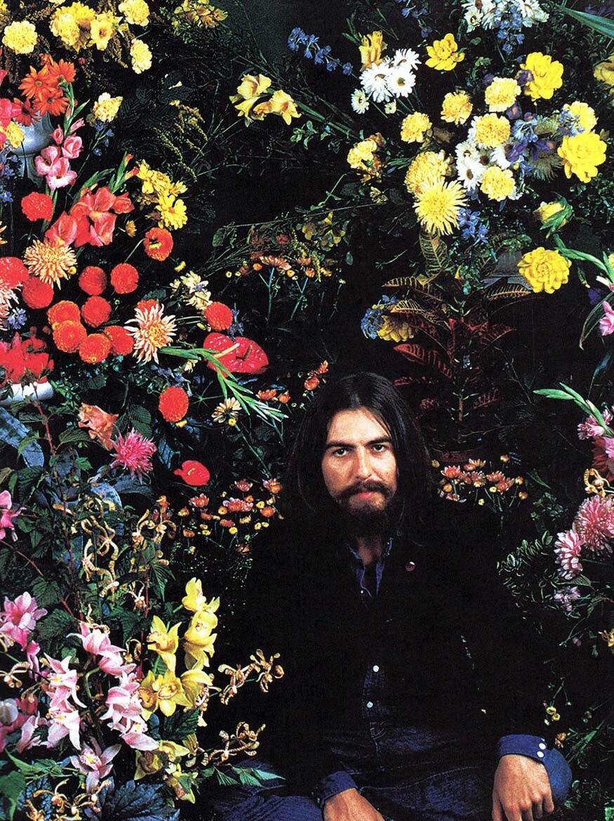 George Harrison, 1969.