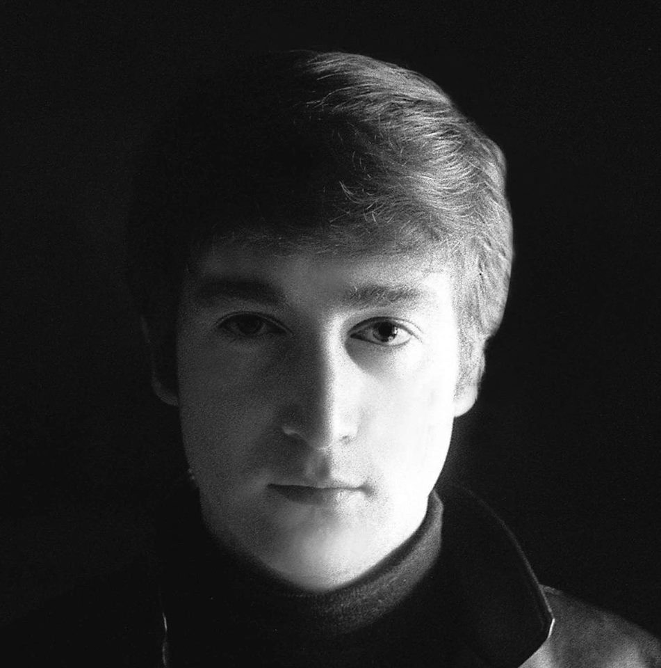 John Lennon in Hamburg, 1962. Photo by Astrid Kirchherr.