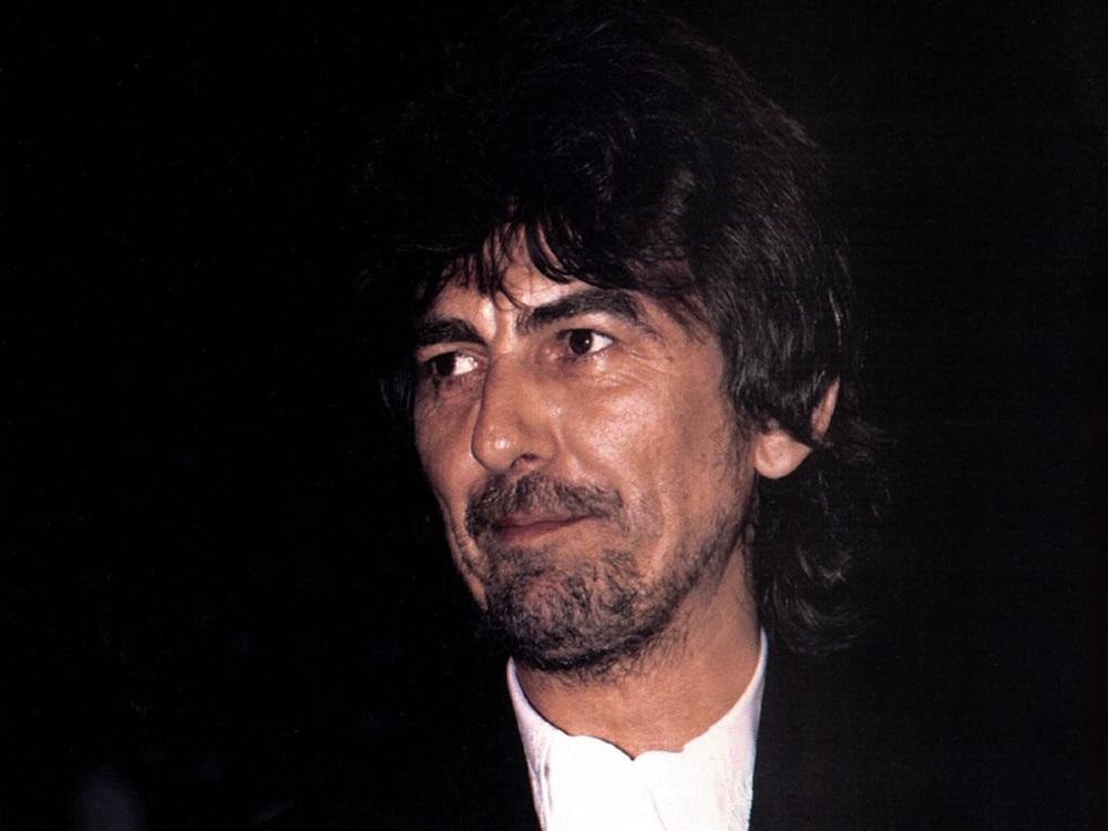 George Harrison, circa 1990.
