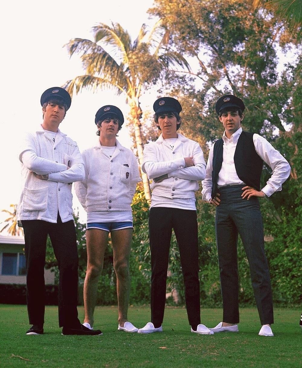 The Beatles in Miami, 1964.