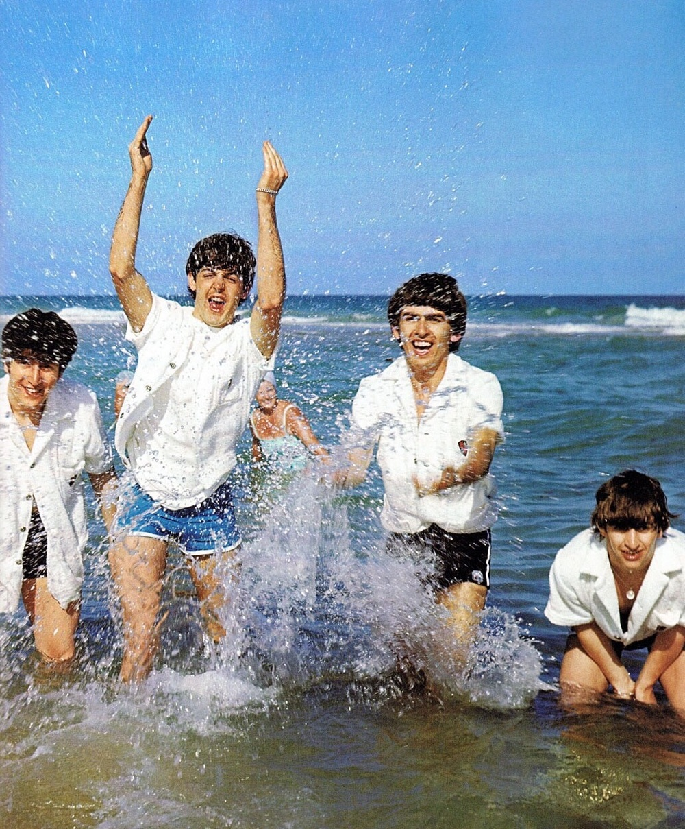 The Beatles at Miami Beach, 1964.