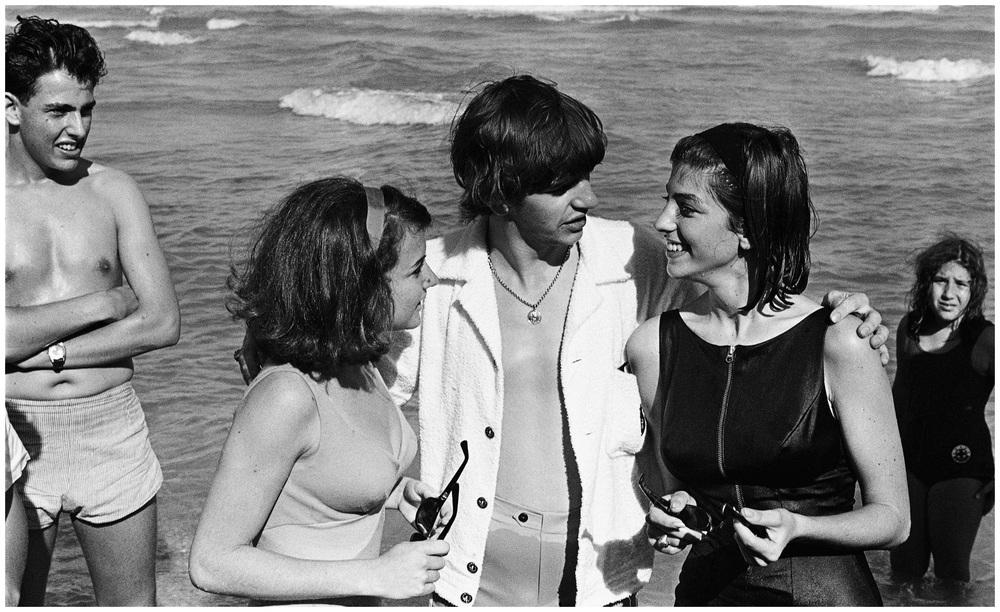 Ringo Starr on Miami Beach, 1964.