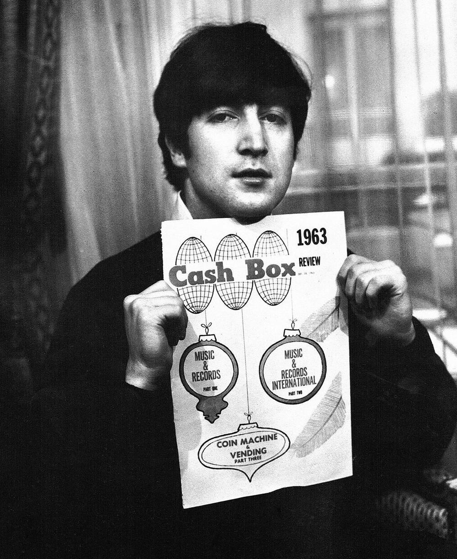 John Lennon, 1963.