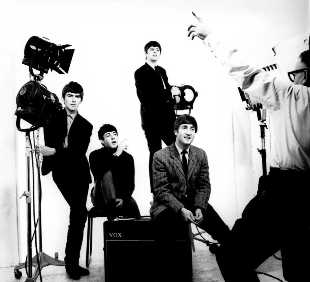 The Beatles photo shoot, 1963.