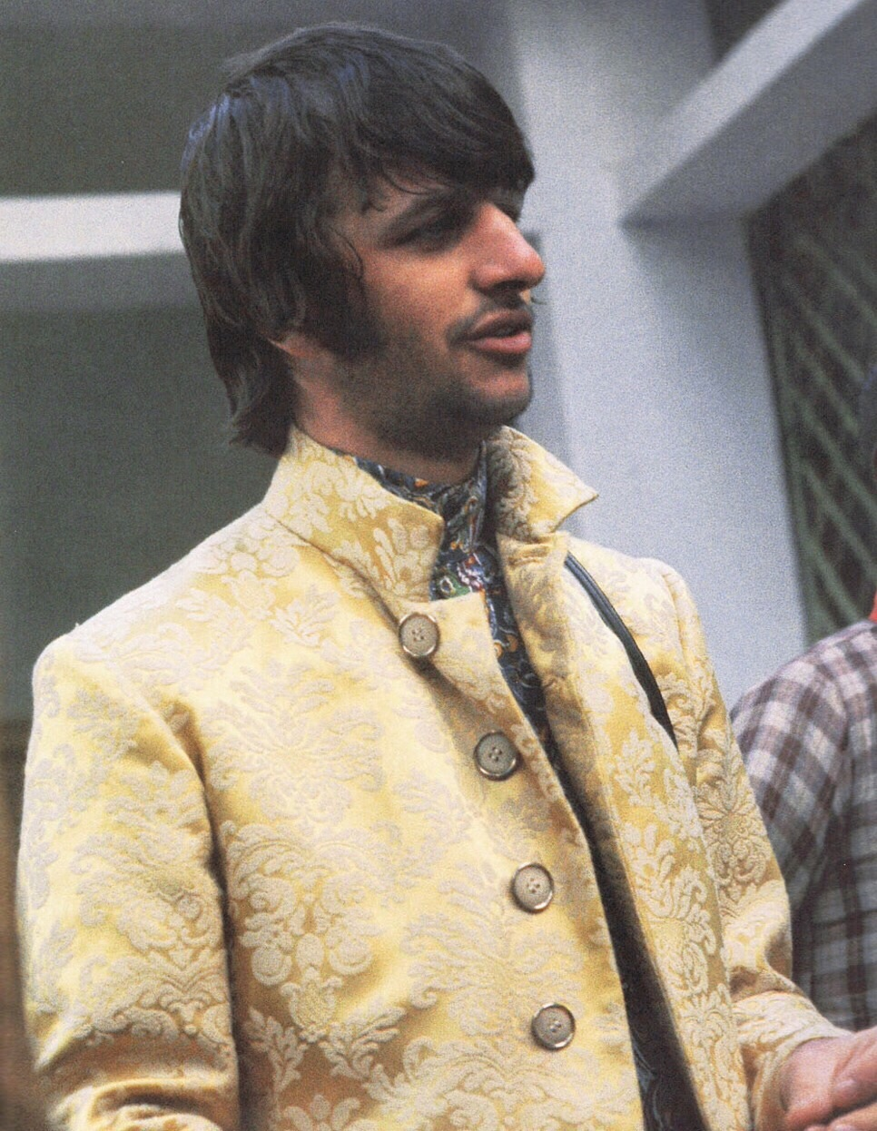 Ringo Starr in India, 1968.