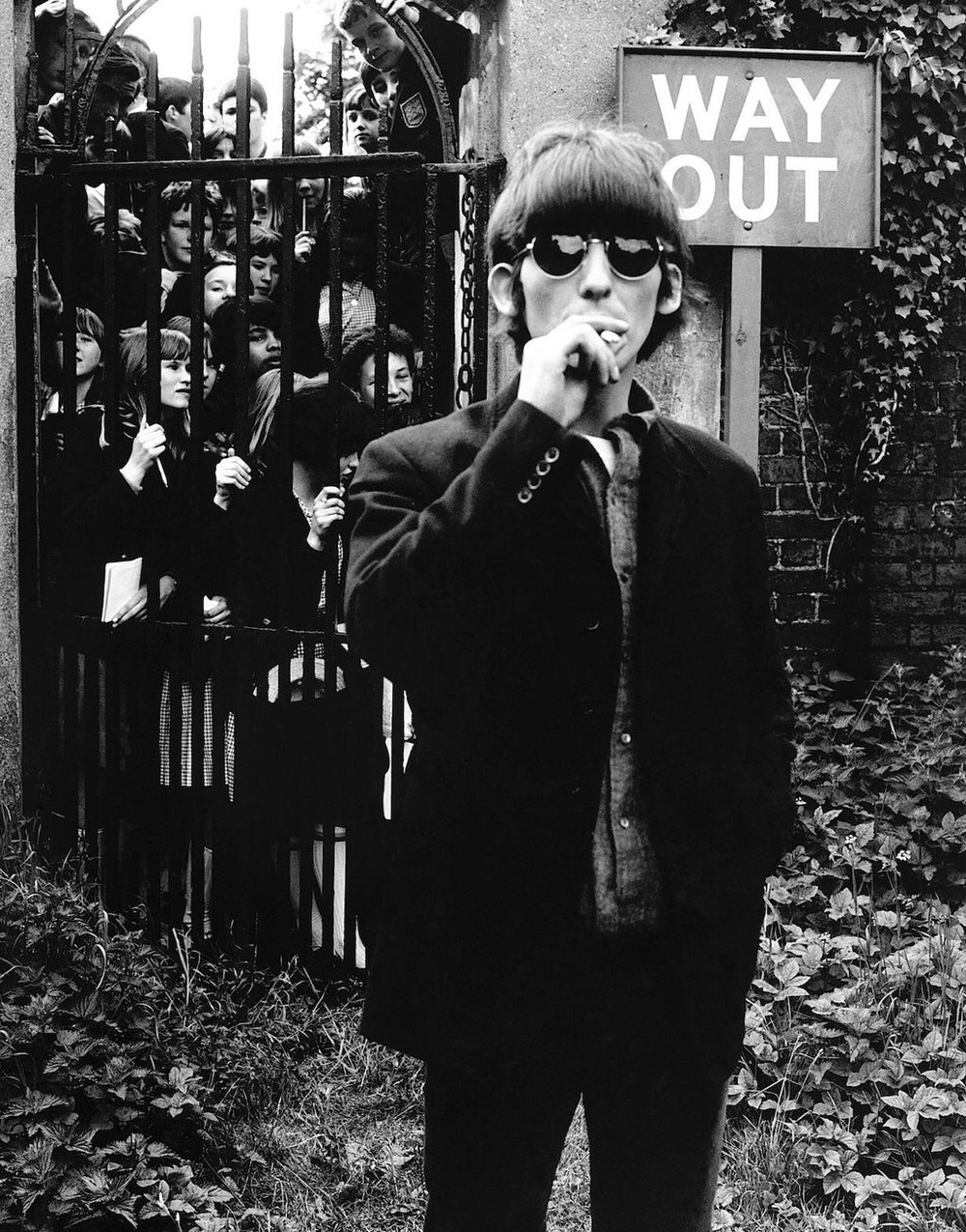 George Harrison at Chiswick House, May 20th 1966.