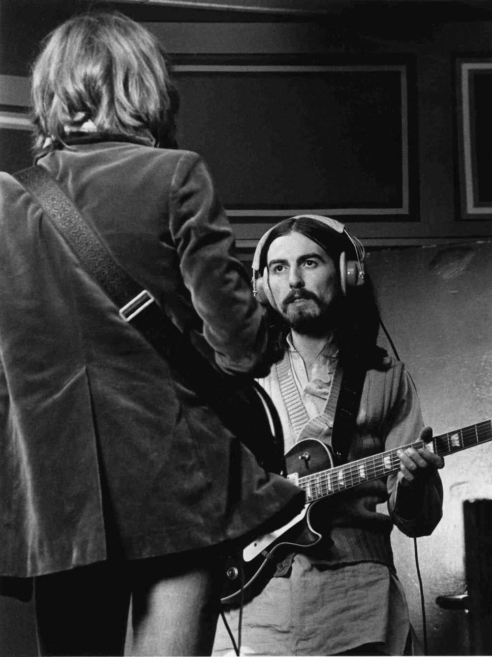 George Harrison and Eric Clapton, 1969.
