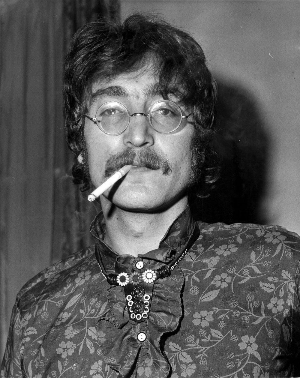 John Lennon promoting Sgt. Pepper, May 19th, 1967.
