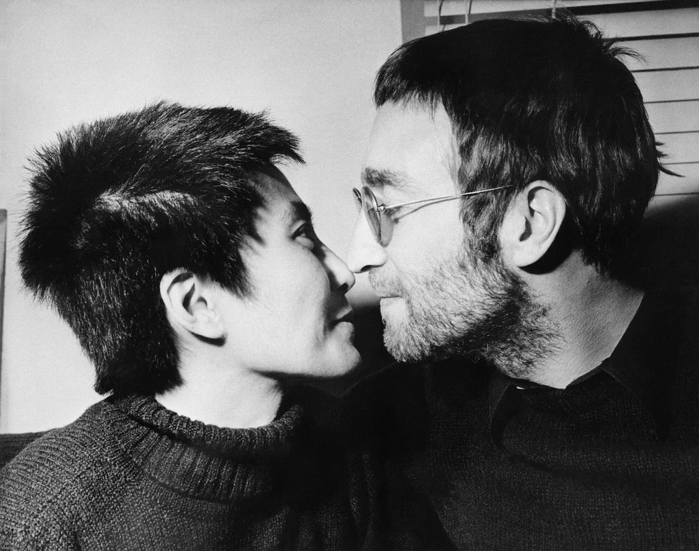 John Lennon and Yoko Ono, 1970.