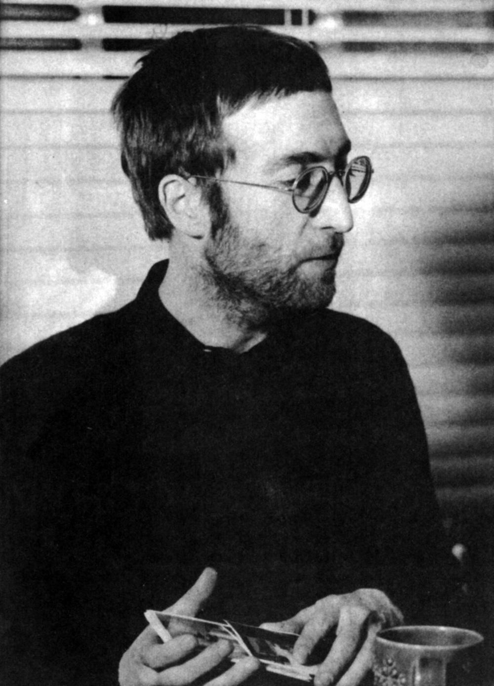 John Lennon, 1970.