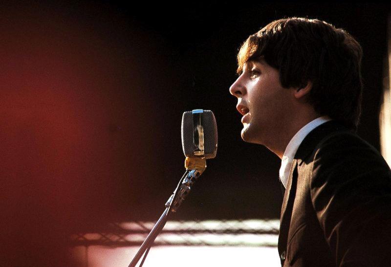 Paul McCartney in Italy, 1965.