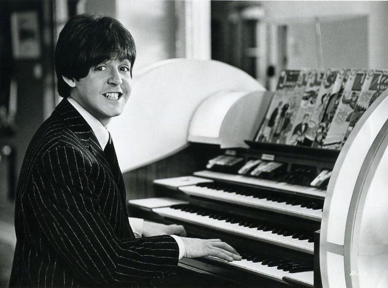 Paul McCartney filming Help! 1965.