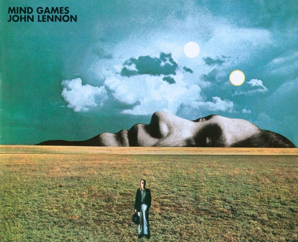 Mind Games album cover, created by John Lennon.