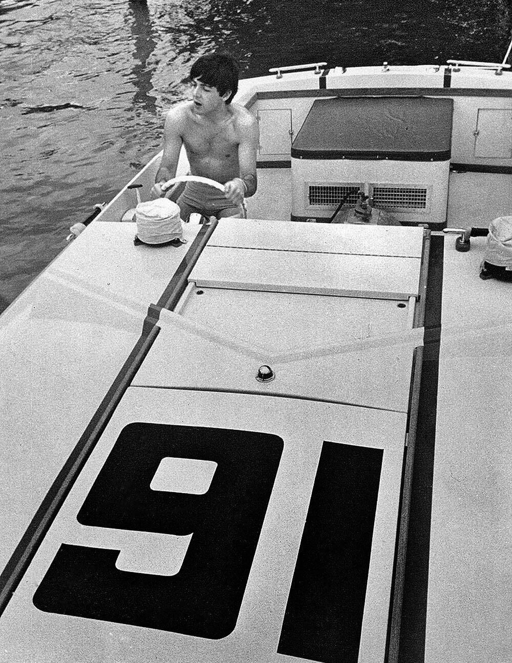 Paul McCartney in Miami, 1964.