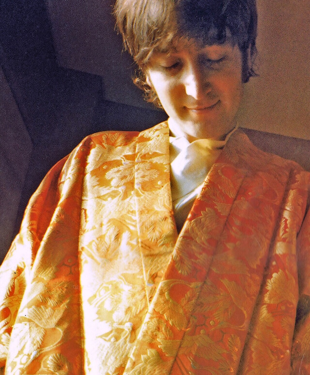 John Lennon in the Presidential Suite of the Tokyo Hilton, June 1966.