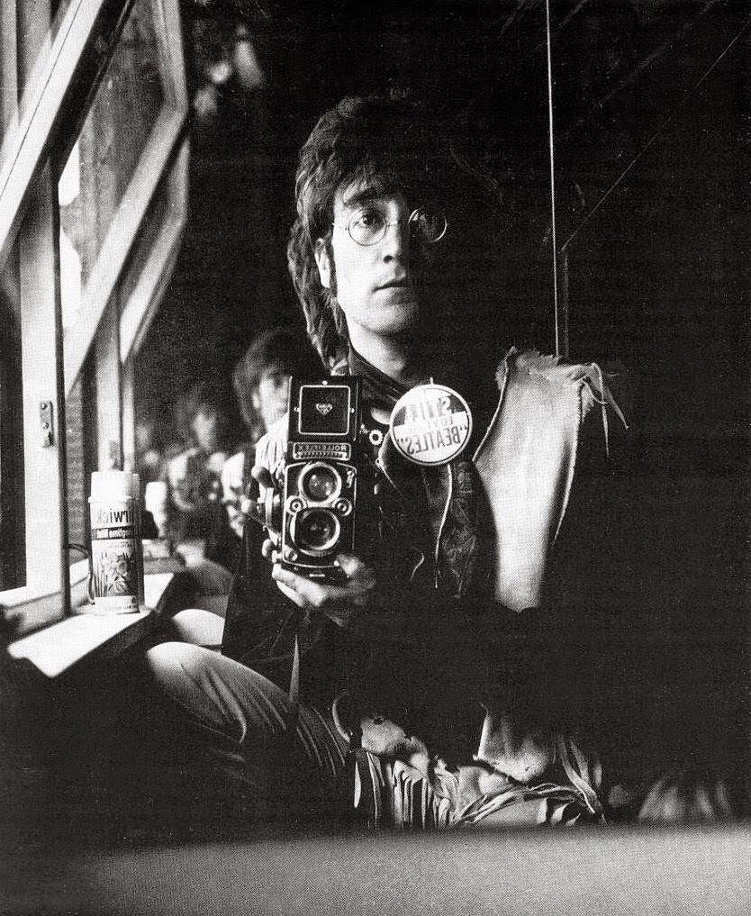 John Lennon selfie, 1967.