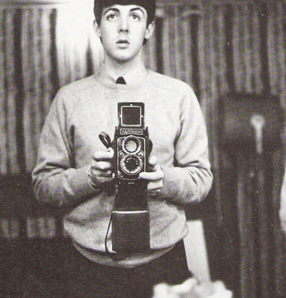Paul McCartney selfie, 1963.