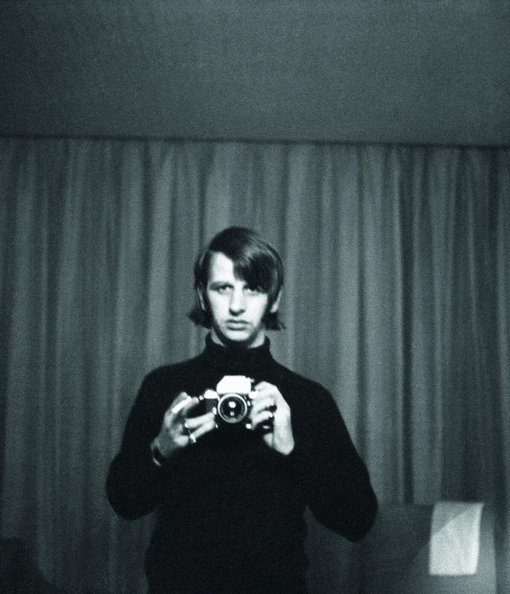 Ringo Starr selfie, 1966.