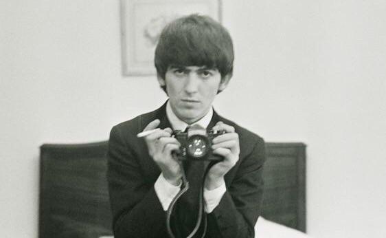 George Harrison selfie, 1964.