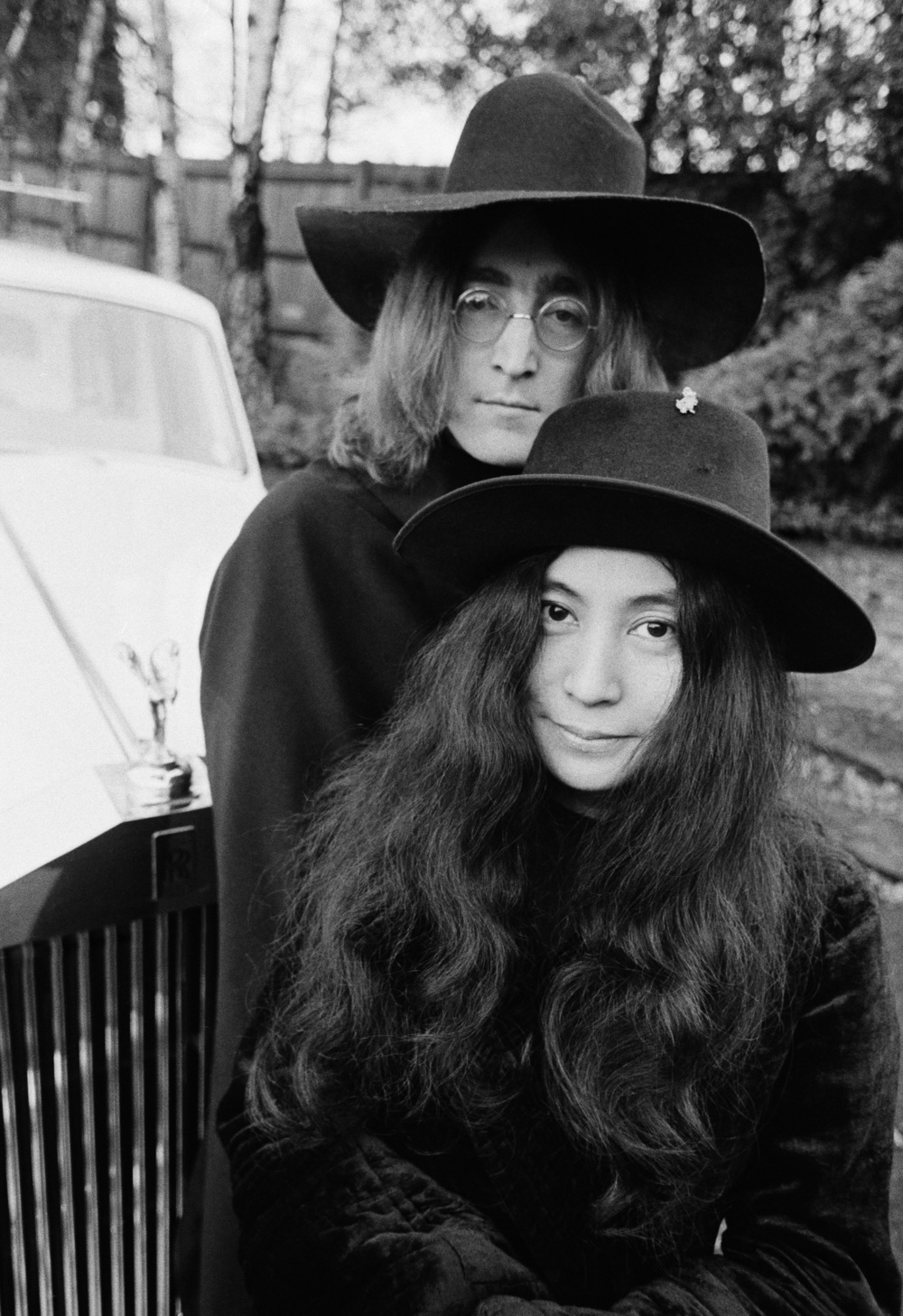 John and Yoko look the part, albeit unintentionally.