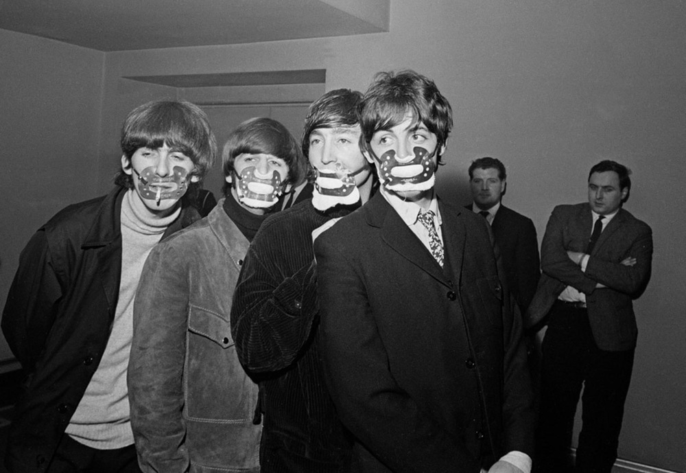 The Beatles doing their Hannibal Lecter impression.
