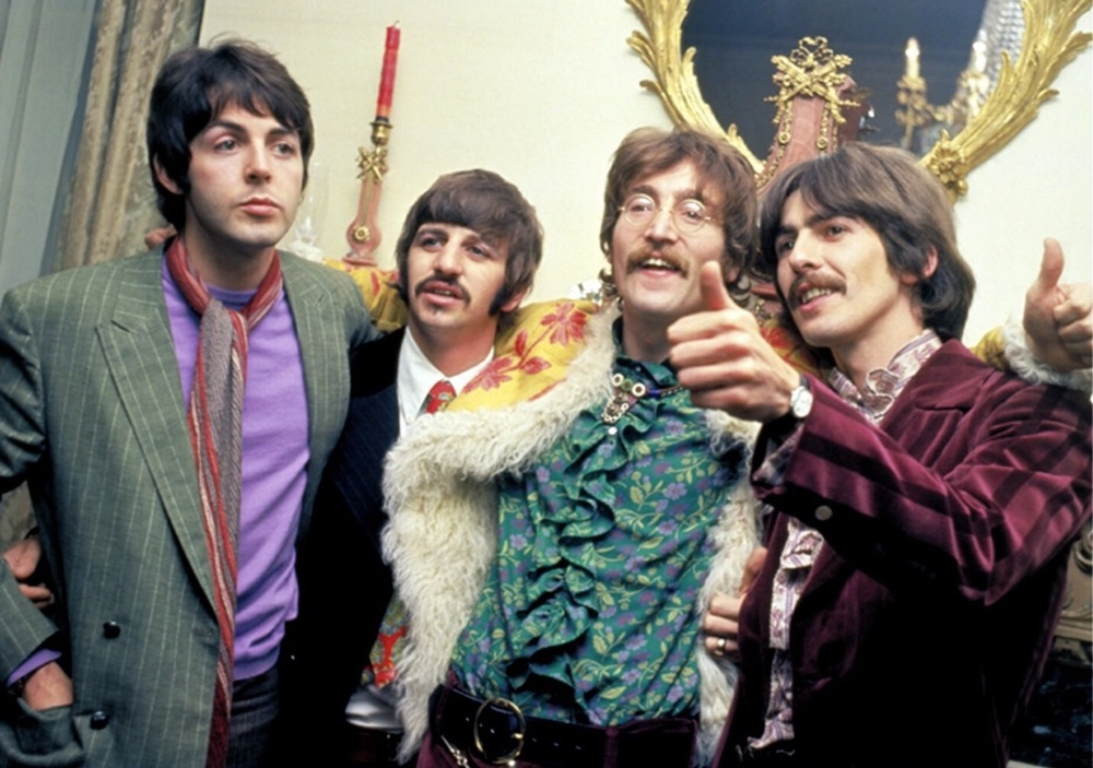 The Beatles promoting Sgt. Pepper, May 19th, 1967.