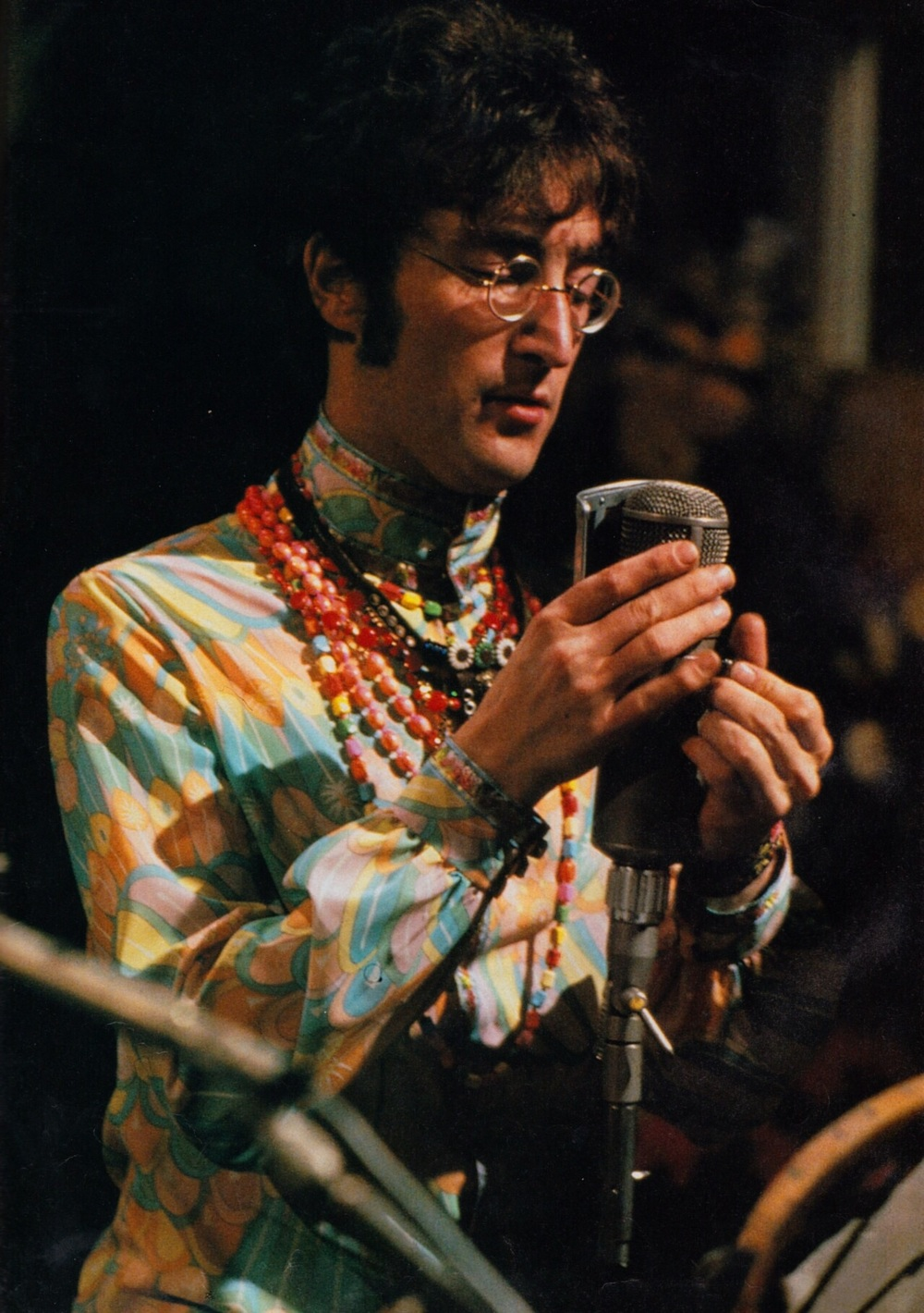 John Lennon performing All You Need Is Love, 1967.