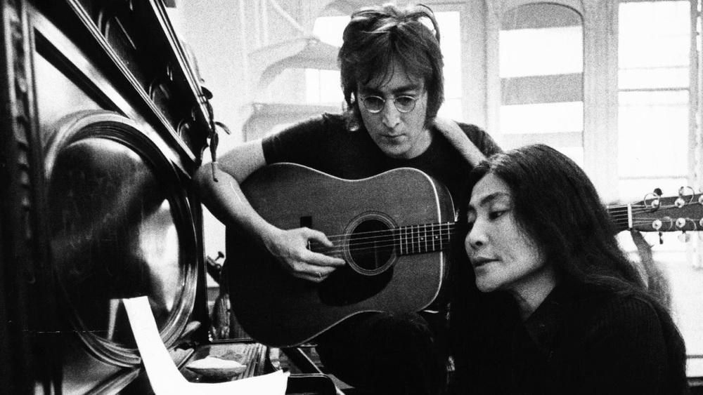 John Lennon and Yoko Ono, 1972.